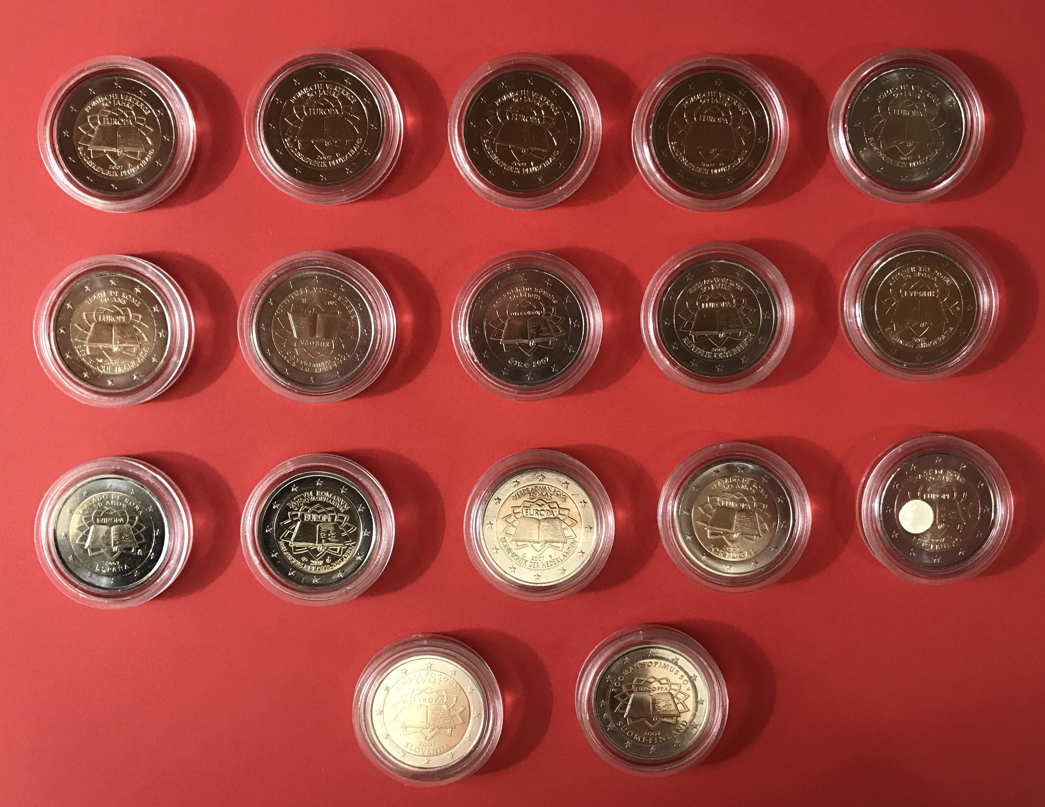 5 X 2 Euro 2012 Deutschland Je 1 X Adfg Und J 1 X 2 Euro 2012