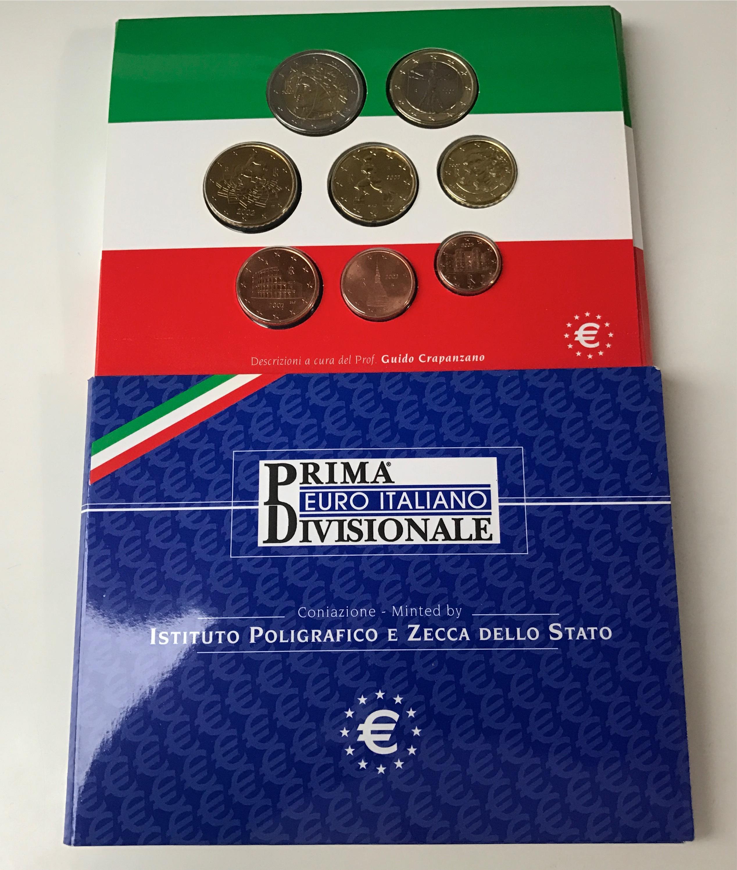 Kms Italien 2002 Poligrafico Muenzhandel Kissercom